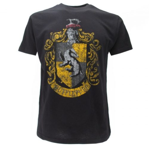 T-Shirt Stemma Casata Tassorosso Harry Potter