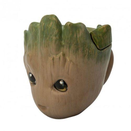 tazza 3D Groot Marvel