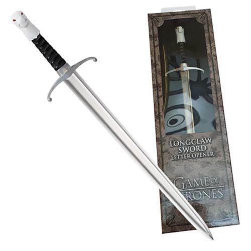 Taglia carte Spada Lungo Artiglio Game of Thrones