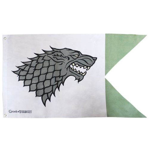 Bandiera Stark Game of Thrones