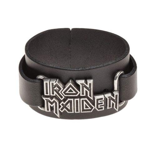 Bracciale in pelle Iron Maiden