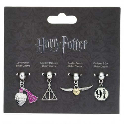 Charm Set Pozione d'Amore Doni della Morte Boccino d'Oro Platform 934 Harry Potter