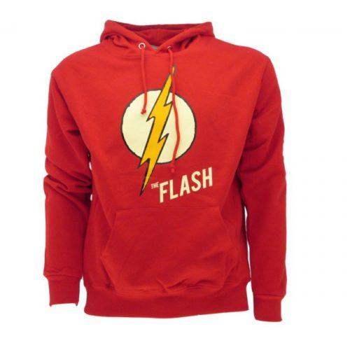 Felpa con cappuccio Flash