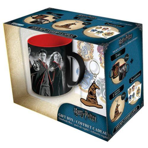 Gift Box Harry Potter Tazza Portachiavi e adesivi scatola