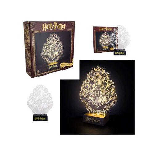 Lampada da tavolo con stemma di Hogwarts Harry Potter