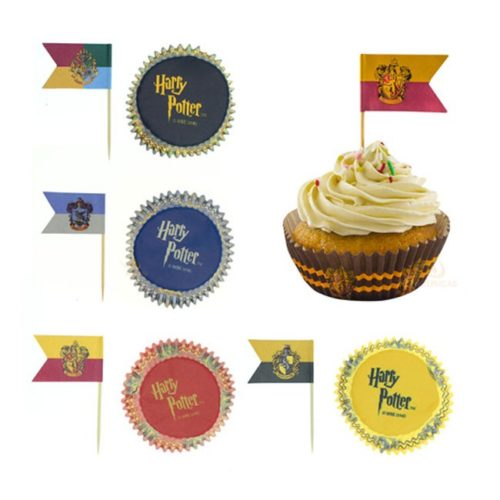 Pirottini per Cupcake Harry Potter
