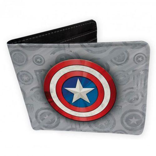 Portafoglio di Capitan America con logo classico Marvel
