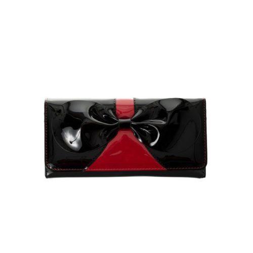 Portafoglio da donna Dancing Days Lilia Banned nero e rosso