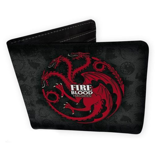 portafoglio targaryen fire and blood game of thrones
