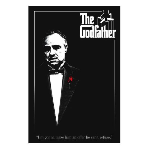 poster il padrino the godfater