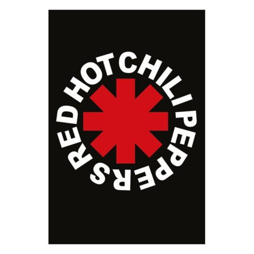 poster red hot chili peppers logo