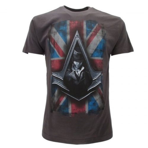 T-Shirt Assassin Creed Grigia