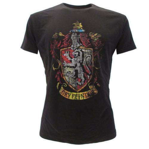T-Shirt Stemma Casata Grifondoro Harry Potter