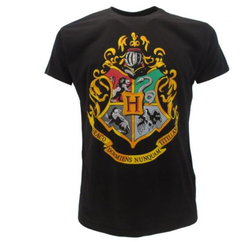 T-Shirt Stemma di Hogwarts Harry Potter
