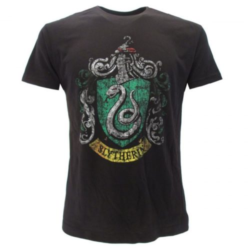 T-Shirt Stemma Casata Serpeverde Harry Potter