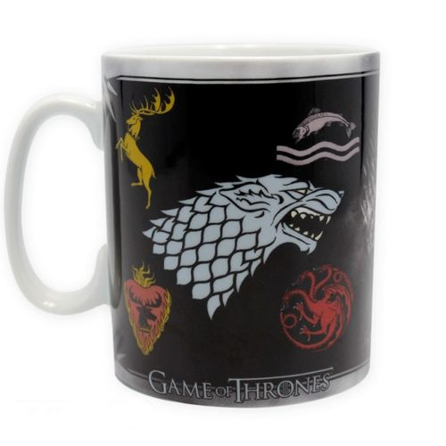 Tazza Game of Thrones Stemmi Casate