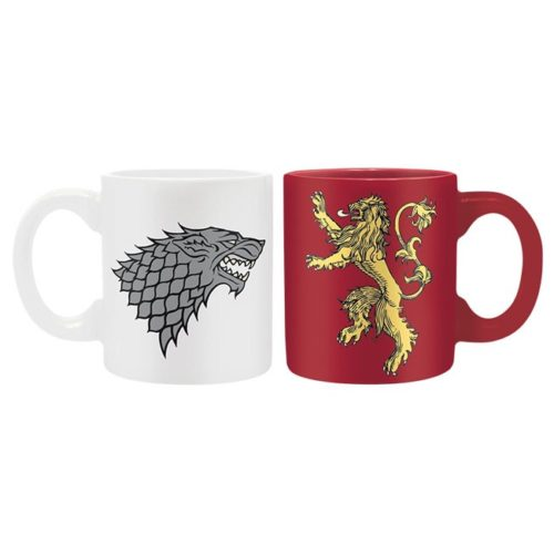 tazzine da caffe stark lannister game of thrones