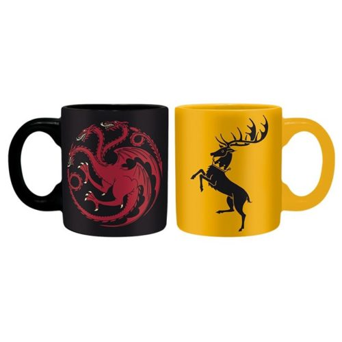 tazzine da caffè targaryen baratheon game of thrones