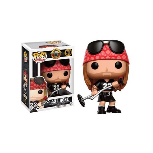 Funko Pop Axel Rose Guns N Roses 50