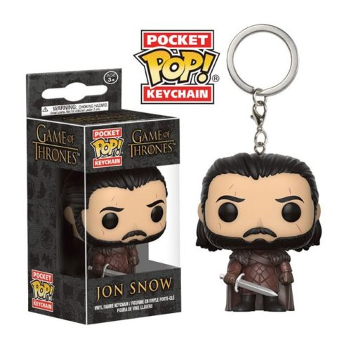 Portachiavi Funko Poket Jon Snow Game of Thrones