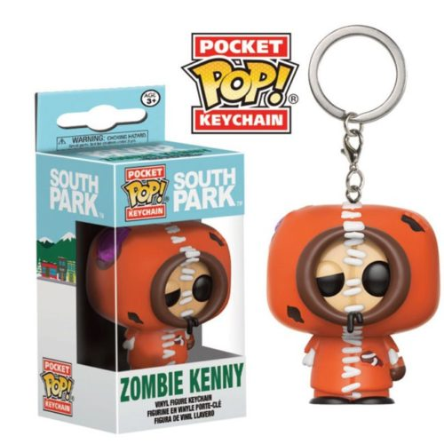 Portachiavi Funko Pocket Zombie Kenny South Park