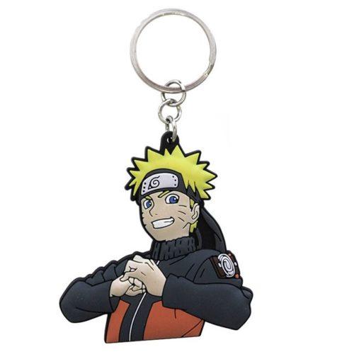 Portachiavi Naruto Shippuden Naruto Uzumaki in gomma