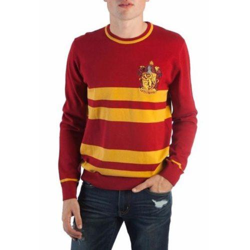Maglione Jacquard Casata Grifondoro Harry Potter