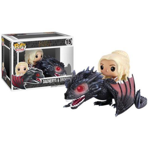 Funko Pop Daenerys e Drogon Game of Thrones 15