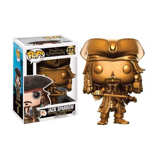 Funko Pop Jack Sparrow Gold i Pirati dei Caraibi 273