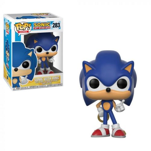 Funko Pop Sonic with Ring 283