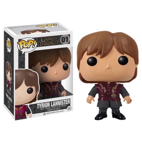 Funko Pop Tyron Lannister Game of Thrones 01