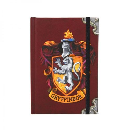 notebook A6 grifondoro harry potter