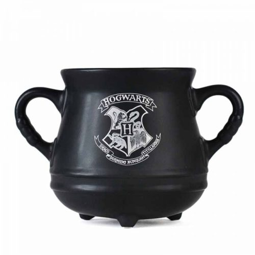 tazza calderone con stemma di hogwarts harry potter