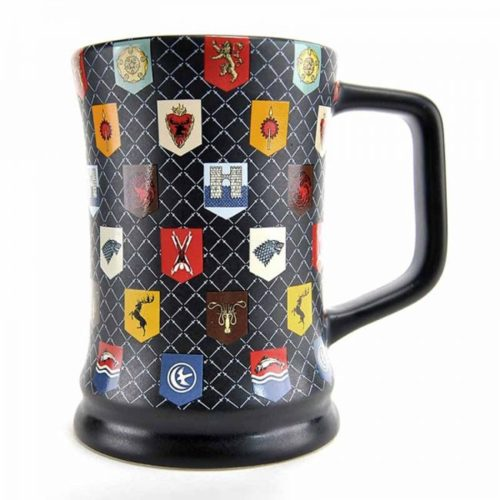 tazza con sigilli colorati game of thrones