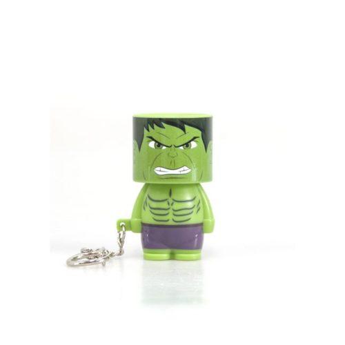 Portachiavi Hulk torcia tascabile marvel