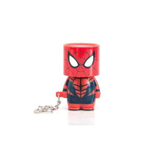 Portachiavi spiderman torcia tascabile marvel