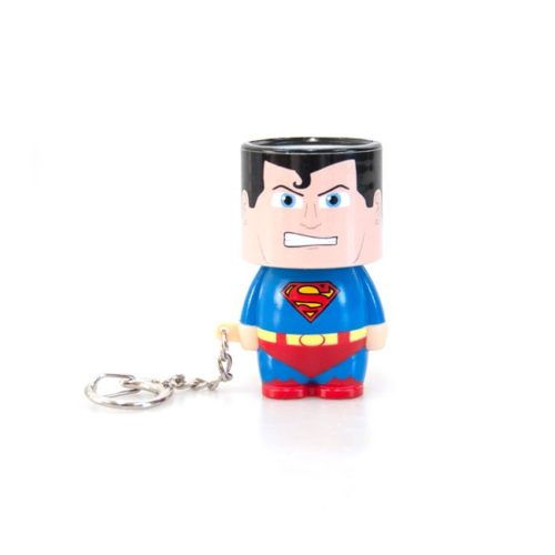 Portachiavi superman torcia tascabile dc comics