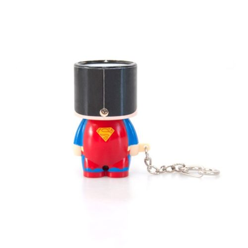 Portachiavi superman torcia tascabile dc comics retro