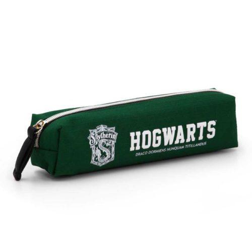 astuccio tubolare verde hogwarts serpeverde harry potter
