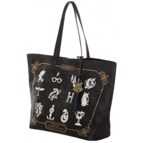 Shopper hogwarts con icone harry potter
