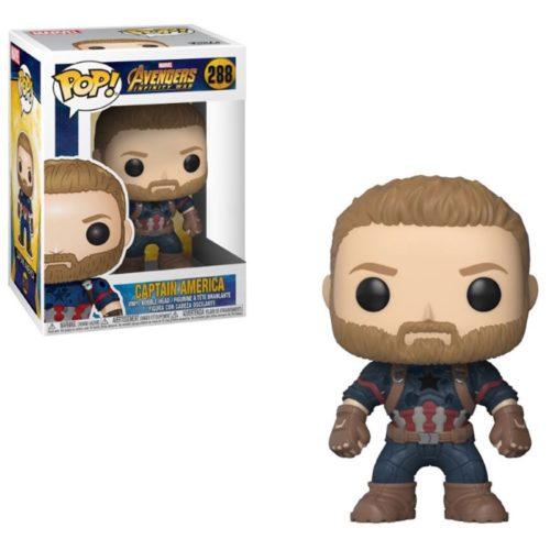 funko pop captain america avengers 288