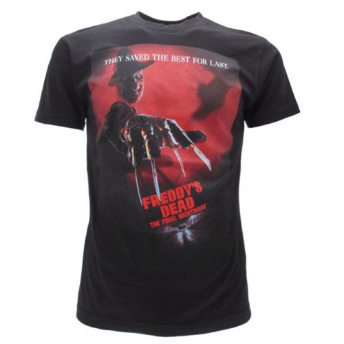 t-shirt freddy krueger nightmare