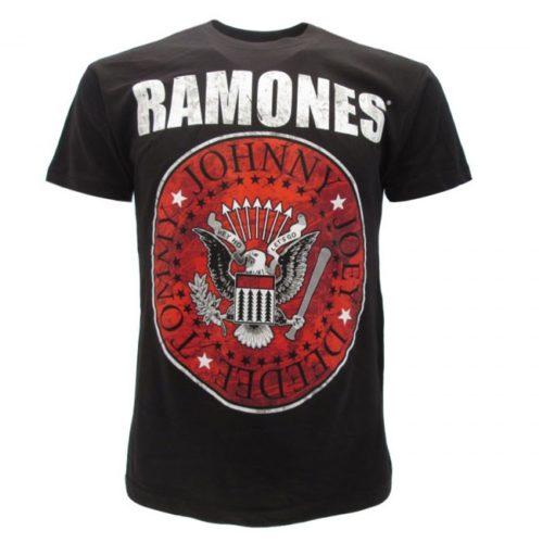 t-shirt ramones colorata