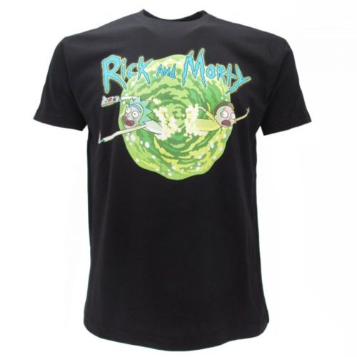 t-shirt rick e morty