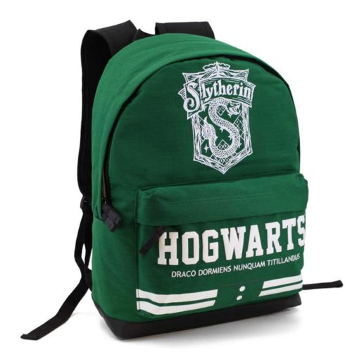 Zaino Hogwarts Serpeverde Harry Potter