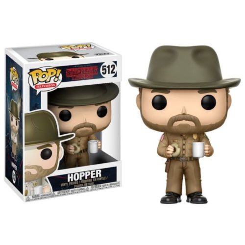 funko pop Hopper Stranger things 512