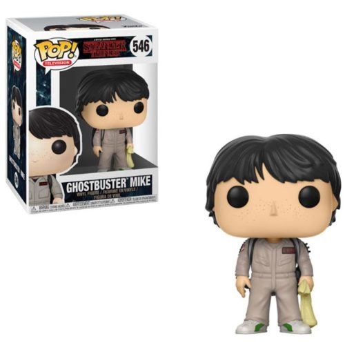 funko pop ghostbuster mike stranger things 546