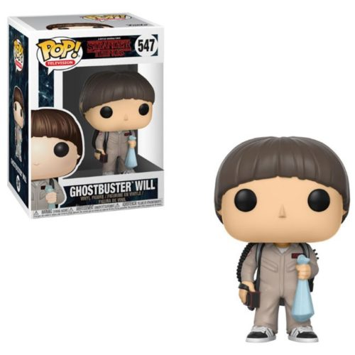 funko pop ghostbuster will stranger things 547
