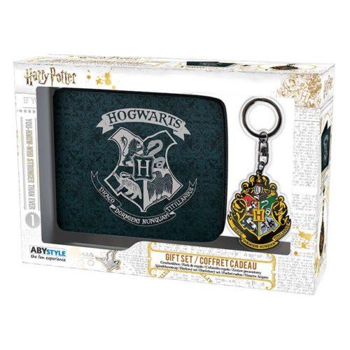 Giftbox portafoglio e portachiavi Hogwarts Harry Potter