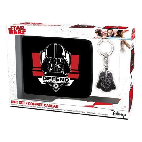 Giftbox portafoglio e portachiavi darth vader Star Wars Disney